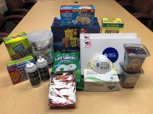 care package foods and goodies