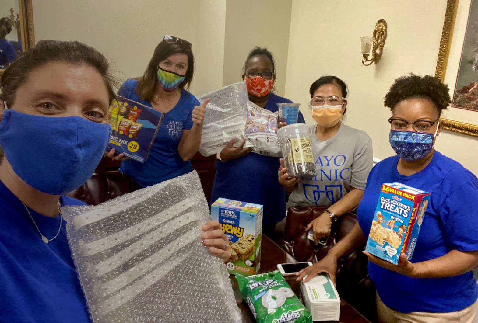 mayo clinic care packages