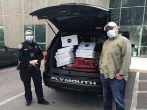 Care packages for police