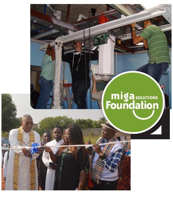 installing donated equipment